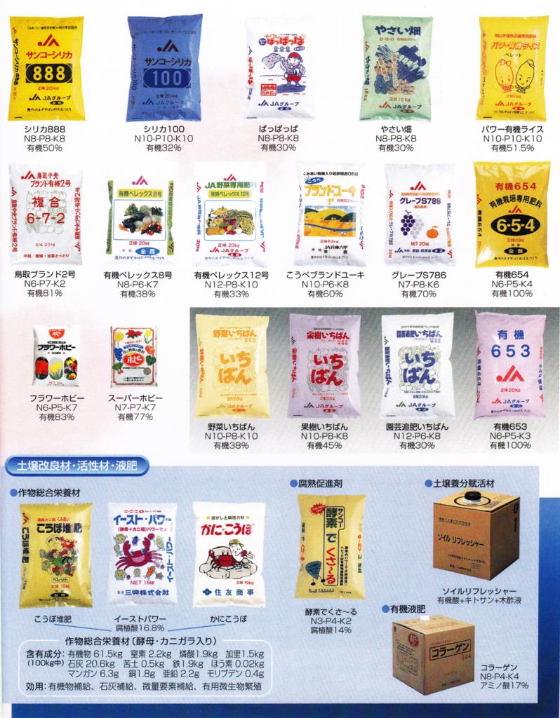 製品一覧:高品質ペレット肥料、その他